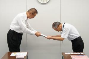 熊本市へ要望書提出
